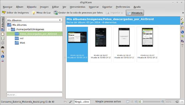 Organiza y edita tus fotos con digiKam en Linux