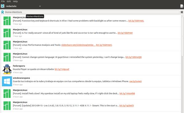 Polly, un cliente de twitter multicuenta para Ubuntu y derivados