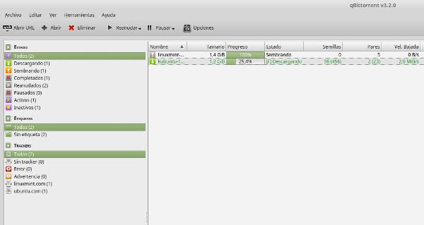 qBitorrent recibe una gran actualización [versión 3.2.0]