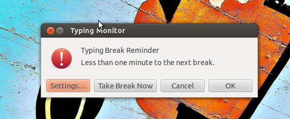 Take a Break, la aplicación que te avisa para tomar un descanso, en Ubuntu