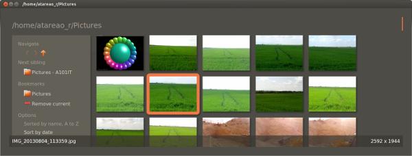 Ojo, un rápido visor de fotografías para Ubuntu y derivados