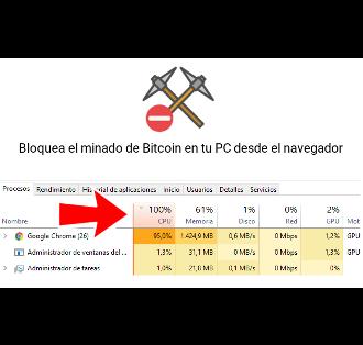 3 formas de evitar que minen con tu CPU desde el navegador