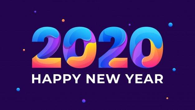 Feliz año 2020 de parte del equipo
